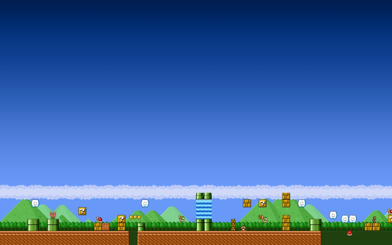 Angry Bird Space Wallpaper 3d Super Mario Wallpaper 1280x800 52698