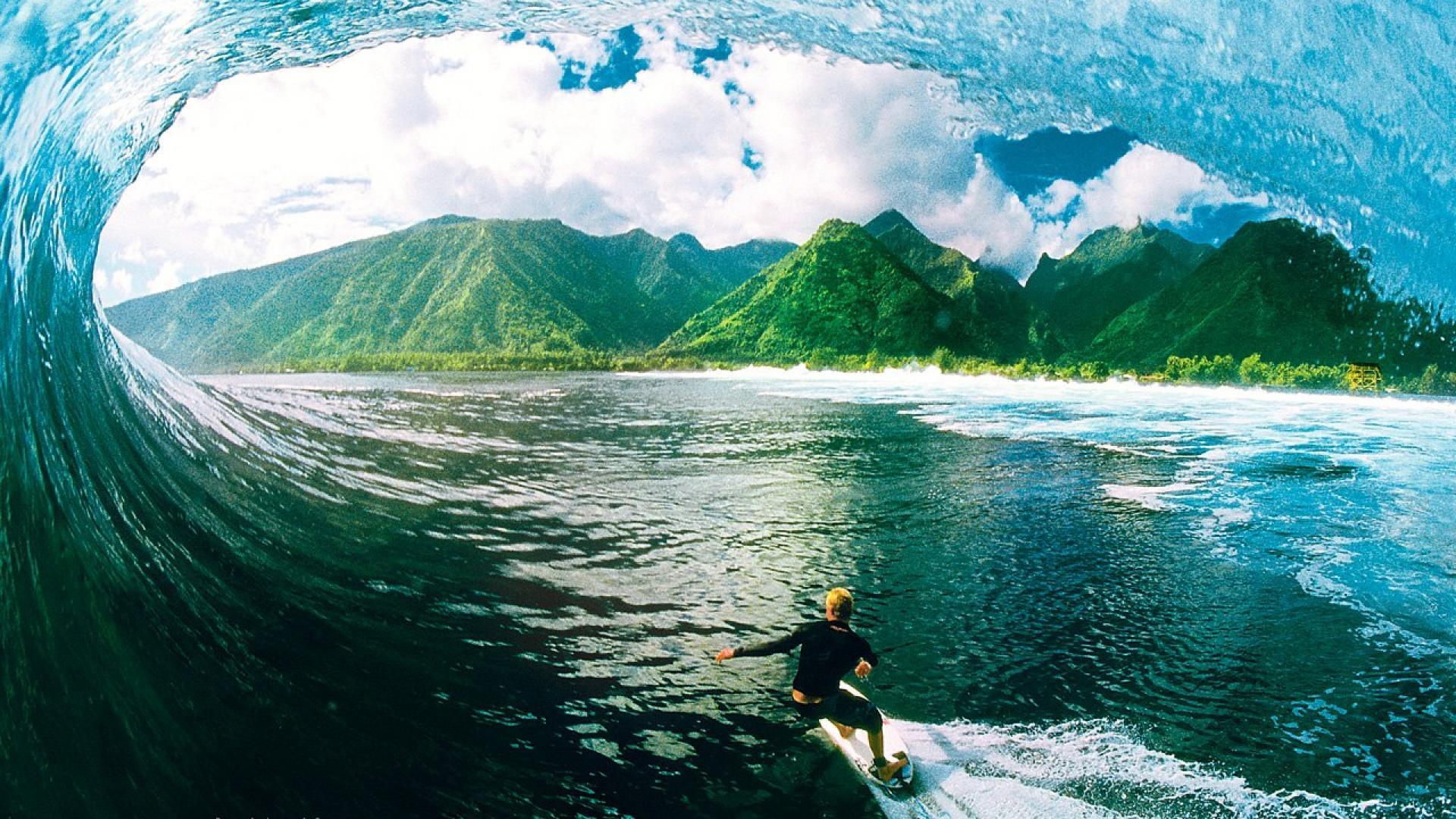 3d Fantasy Nature Wallpaper Surfing Wallpaper 1920x1080 44135