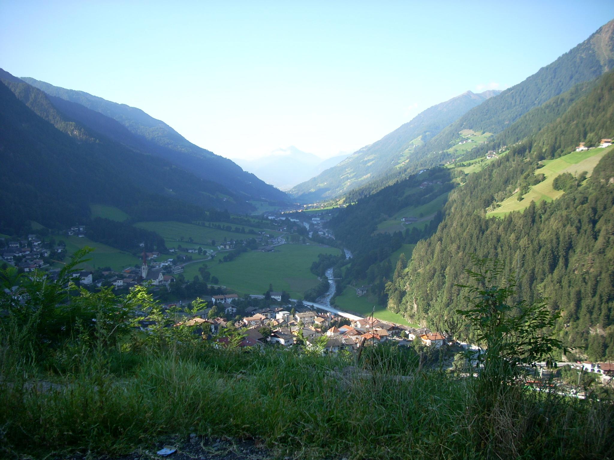 Mountains Landscapes Nature Forest Austria Valley Village #0DA2BE 2048x1536