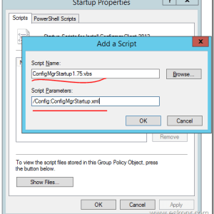 SCCM Configmgr How to implement Jason Sandys Client Startup Script to achieve good client success rate