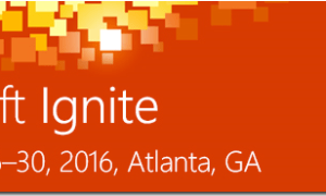 Microsoft Ignite 2016 sessions are available on YouTube channel