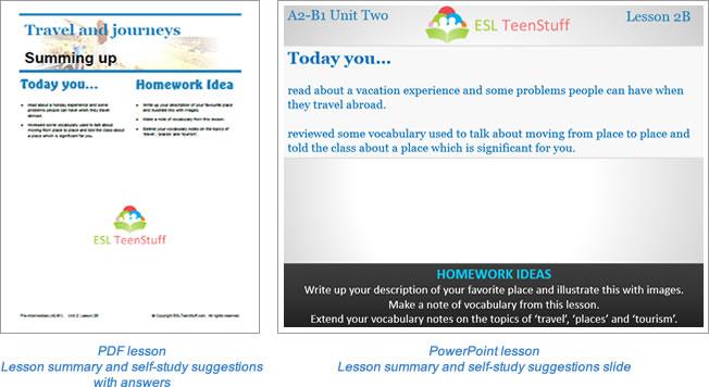 How to use ESL TeenStuff ESL TeenStuff - esl powerpoint lesson