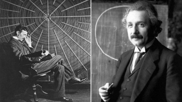 Resultado de imagen de carta que Albert Einstein le envió a Nikola Tesla