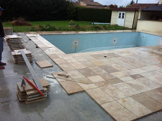 Toit Terrasse Tarif Dalle Travertin 40×60 1er Choix Carrelage En Pierre Naturelle