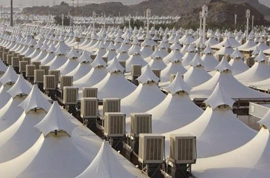 Imagen de las 100.000 tiendas con las que Arabai Saudí podría acoger a 3 millones de refugiados sirios