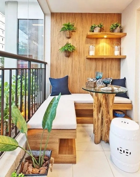 Más de 100 fotos de decoración de terrazas y balcones pequeños y - Decoracion De Terrazas Con Plantas