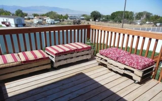Más de 100 ideas de Muebles hechos con palets reciclados - Terrazas Con Palets
