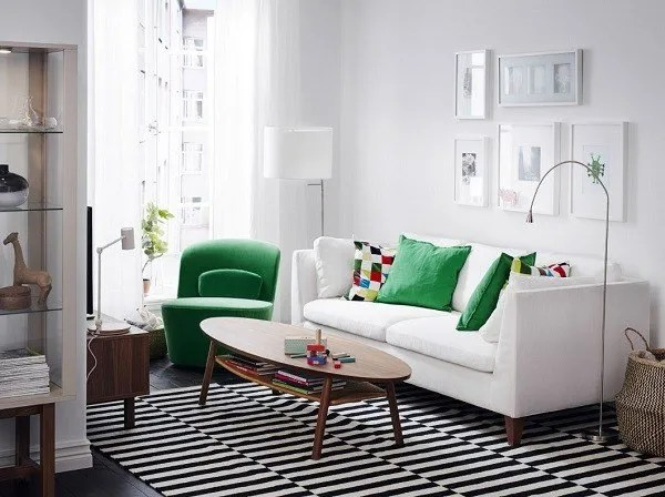Sofa Ikea Indonesia + De 200 Fotos De Decoración De Salones Modernos 2019