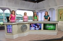 Hannah Storm, Chris Evert, Mary Joe Fernandez and Pam Shriver - 126th Wimbledon Championships - July 6, 2012