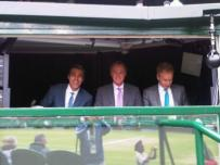 Pic - Wimbledon - Bunker - Chris Patrick John mens final