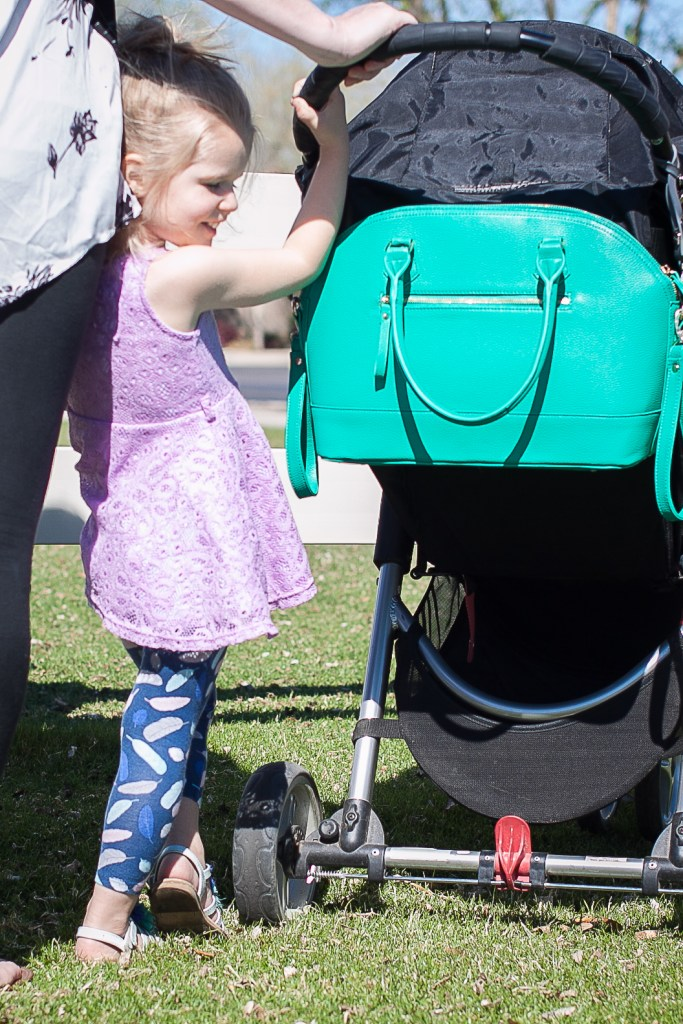 diaper bag - Coco and Kiwi