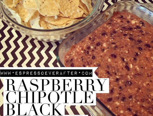 Raspberry Chipotle Bean Dip Recipe
