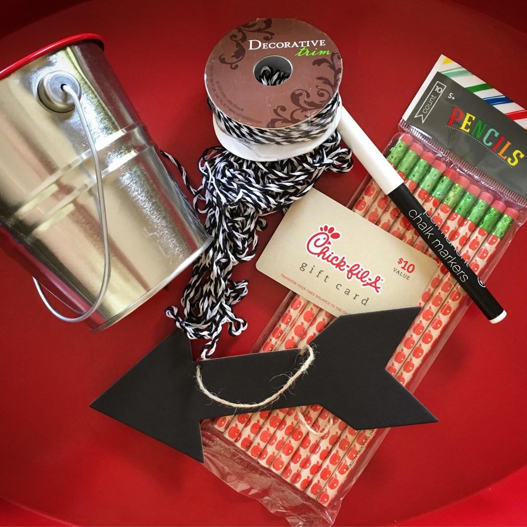 Teacher Appreciation - thank you gift