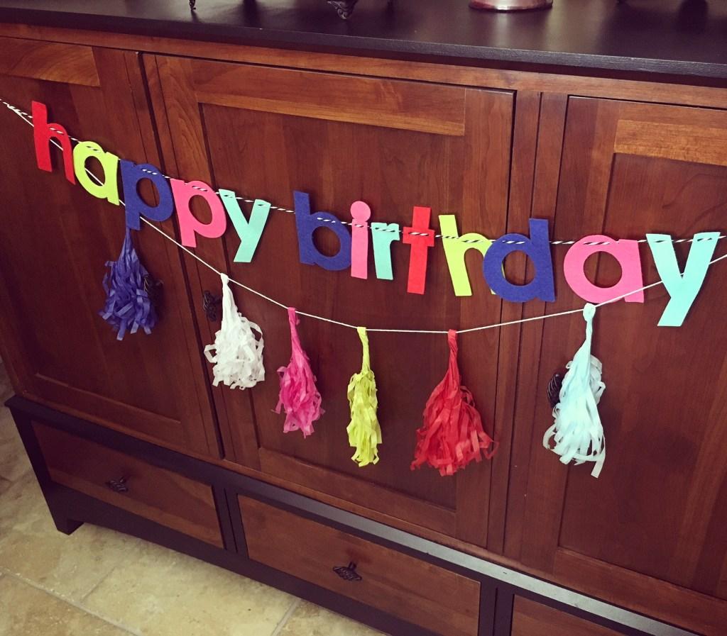 Ice Cream Sundae Bar Themed Birthday Party