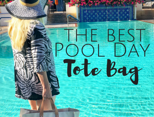 The Best Pool Day Tote Bag - Adornlee