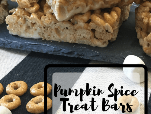 Pumpkin Spice Treat Bars - Recipe