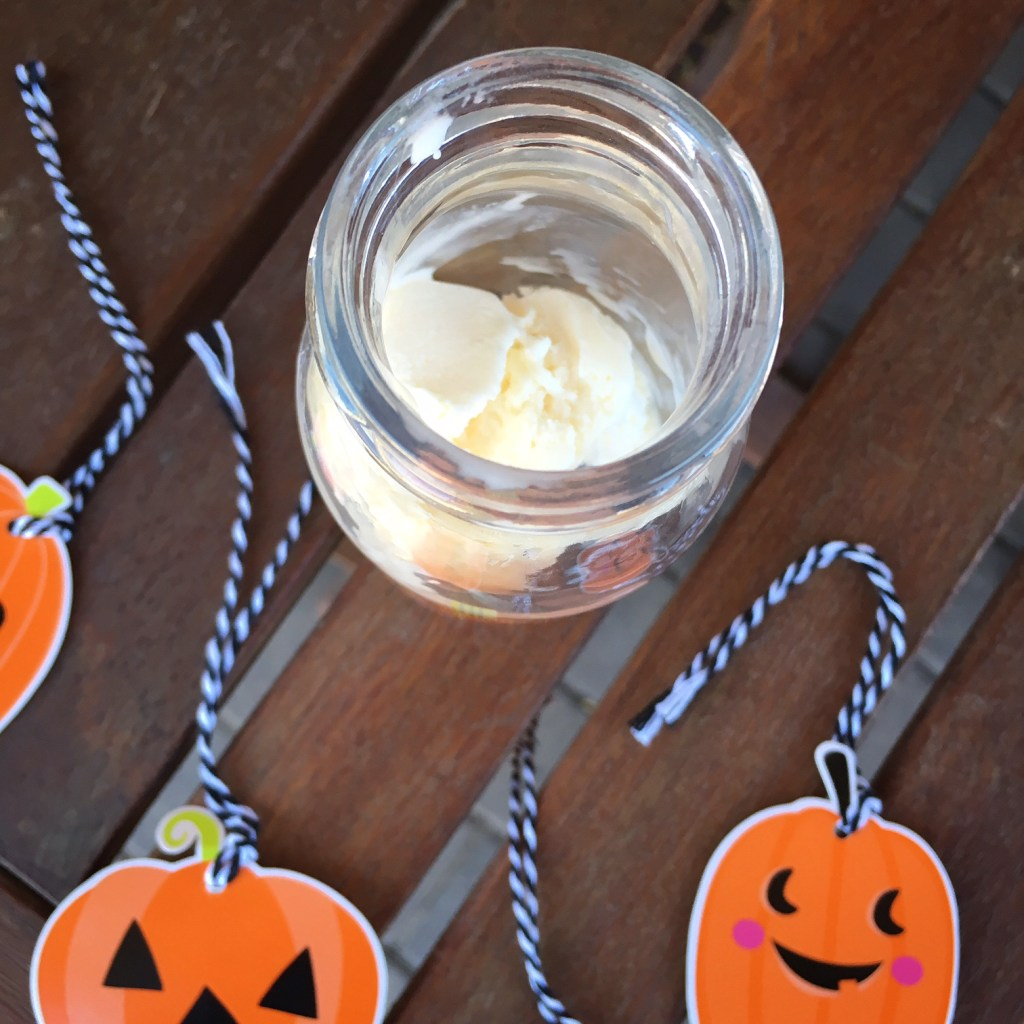 Pumpkin Ice Cream Float