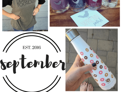 September Monthly MUST Haves