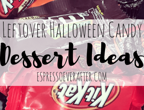 Leftover Halloween Dessert Candy Ideas