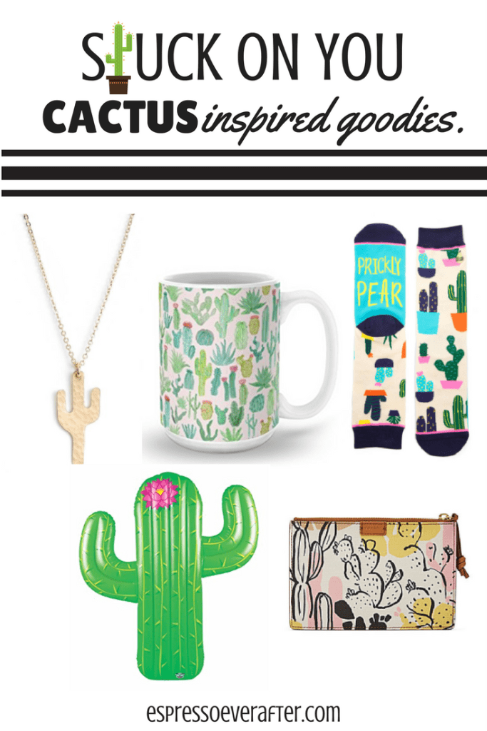 Stuck On You | Cactus Inspired Goodies
