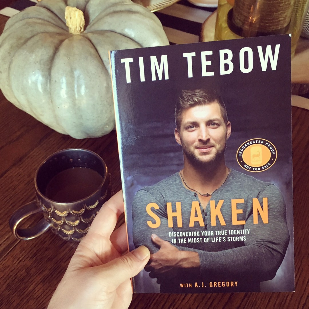 Shaken by Tim Tebow | Book Review