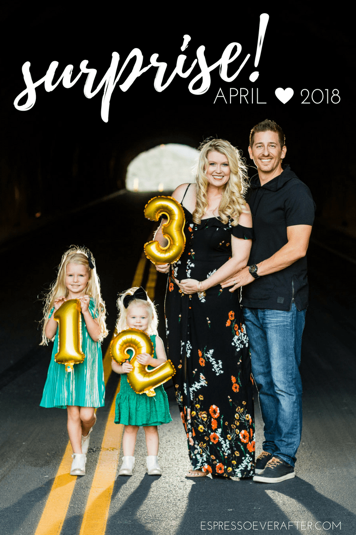 This Sweet Pregnancy Reveal for Baby 3 Is a Family Affair