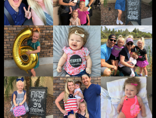 Our Month In 9 Squares is a 9-photo recap of the month, filled with photos and cherished memories. Check out our favorite moments in July 2018