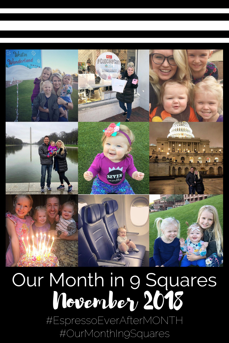 Our Month In 9 Squares is a 9-photo recap of the month, filled with photos and cherished memories. Check out our favorite moments in November 2018.