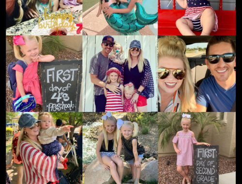 Our Month In 9 Squares is a 9-photo recap of the month, filled with photos and cherished memories. Check out our favorite moments in July 2019.
