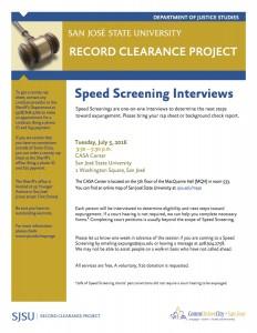 Speed Screening July 5-English