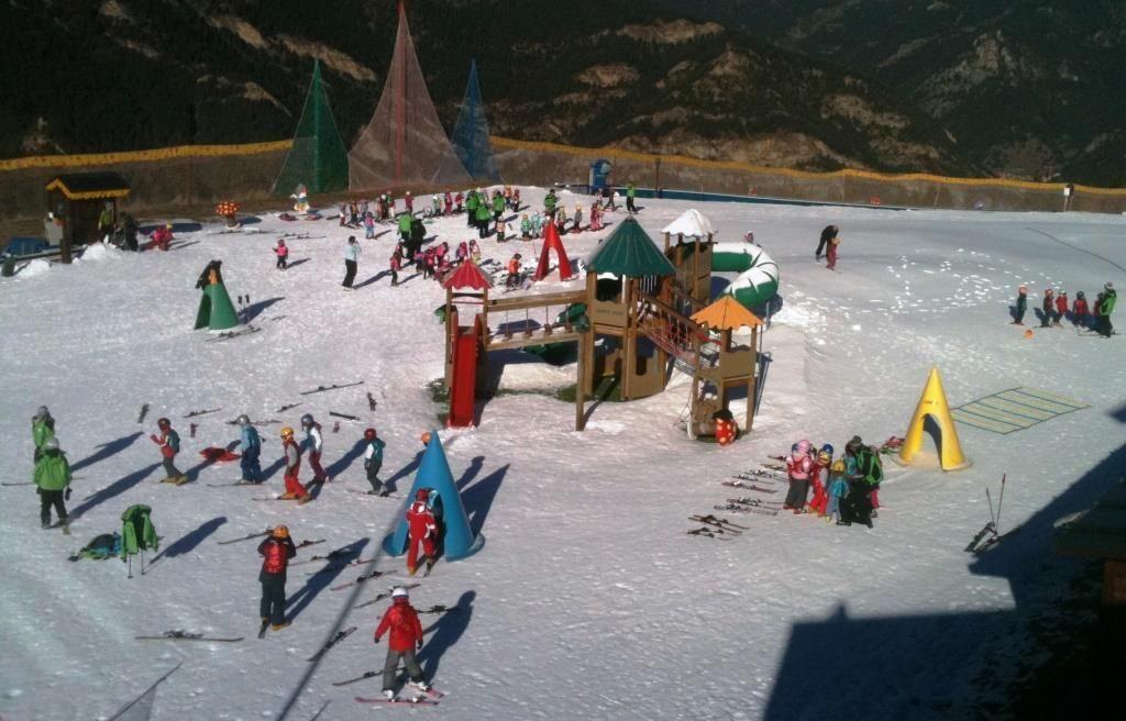 los mejores jardines de nieve esquia con peques