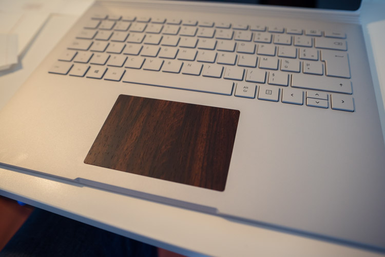Salon Grande Taille Test: Dbrand Skin Wood Mahogany Pour Surface Book
