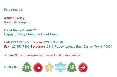 Christmas Email Signature Template Email Signature Rescue - holiday closure sign template