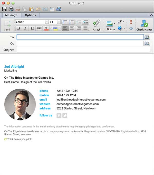 outlook mac email template - Onwebioinnovate - outlook signature template