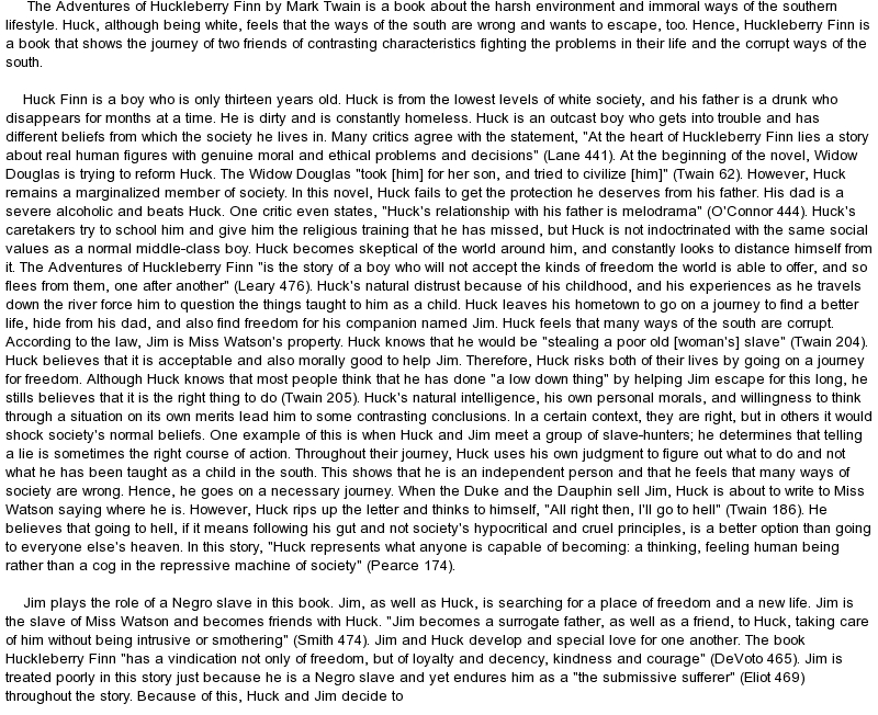 essays on huckleberry finn communication daily life essay essay on