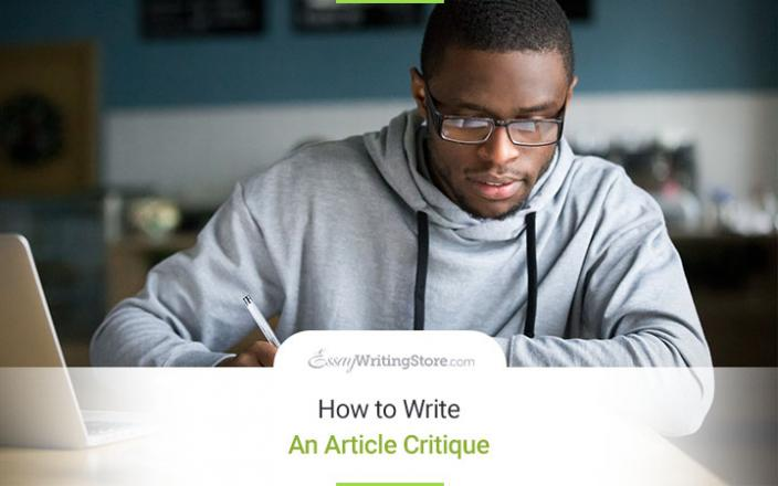How To Present Good Article Critiques