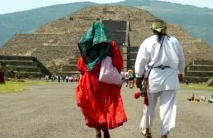 Teotihuacan, a cidade dos deuses, e a parte legal de tours emgrupo