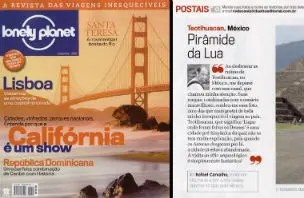 Estamos na Lonely Planet!!!