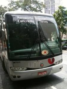 Ônibus Conexão Aeroporto Confins - BH