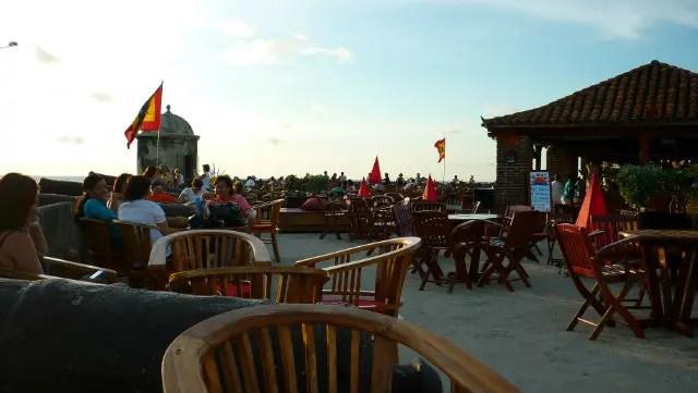 Café del Mar - Cartagena de Indias (Foto: Esse Mundo É Nosso)