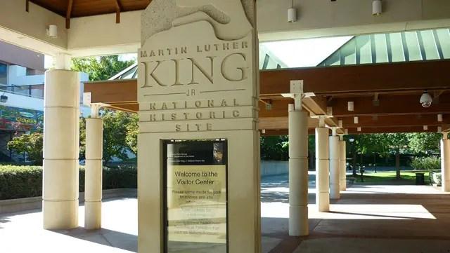 Martin Luther King Center - A casa em que Martin Luther King nasceu (Foto: Esse Mundo é Nosso)