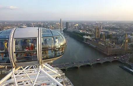 London Eye: A roda gigante de Londres