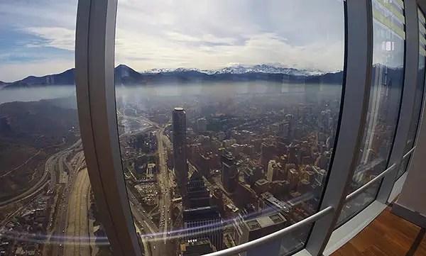 Visita ao Sky Costanera em Santiago: O prédio mais alto da América Latina