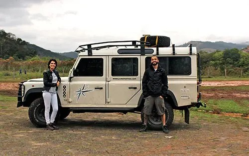 Esse casal largou tudo no Brasil pra rodar o mundo por 3 anos