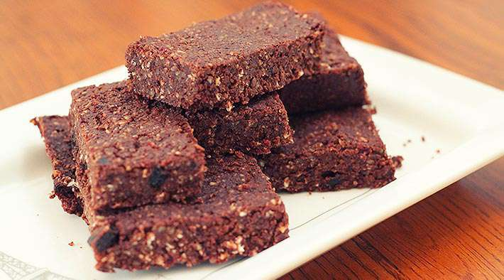 Ofen Küche Vegane Low-carb Brownies - Low Carb Rezepte