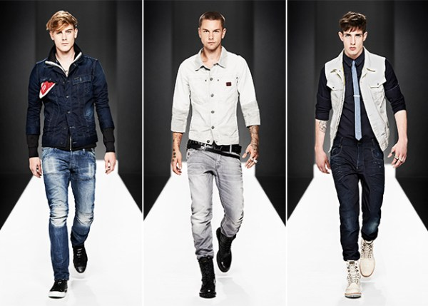 G-Star Raw Spring 2013 Look Book: Magnetic Motor