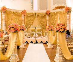 Yellow gold wedding decorations essentially engaged