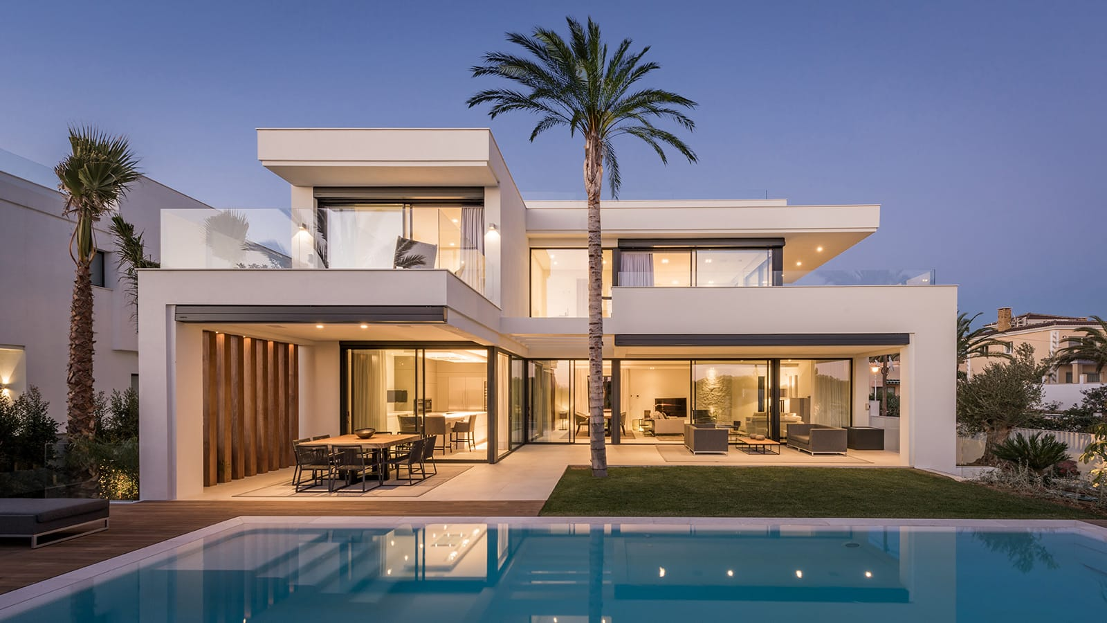 Villa Modern A Brand New Modern Villa 2nd Line Beach Of Marbella ...