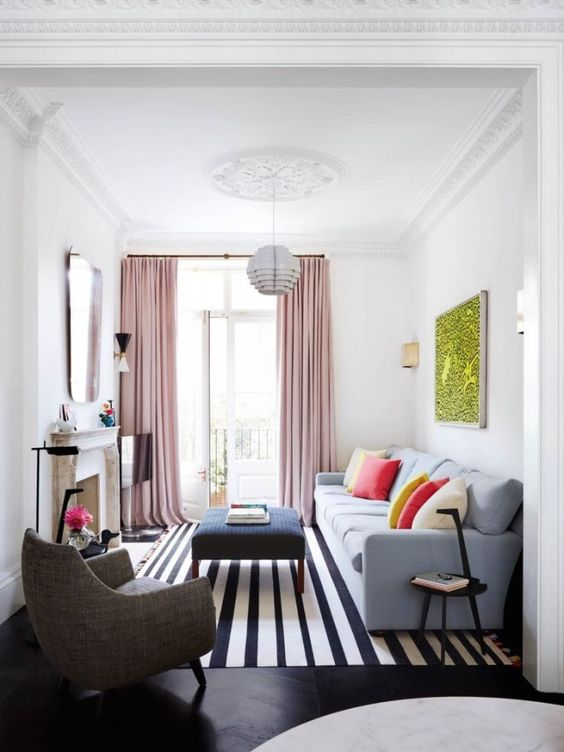 Cool Ideas To Make a Small Living Room Look Bigger - how to make a small living room look bigger