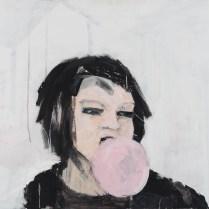 Western BubbleVII, 80 x 110 cm, 2016